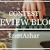 """Izzat Azhar buat Review Blog"""