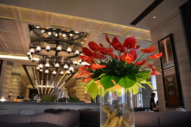 Mandarin Oriental Hotel KL flowers