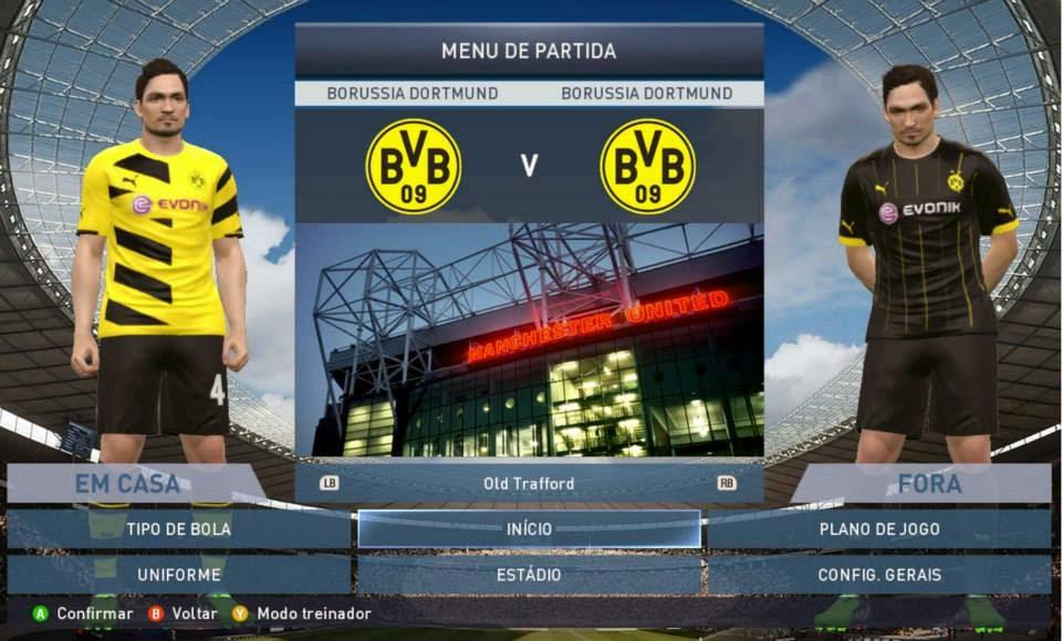 PES 2015 PC Total Patch 2.0 com Bundesliga licenciada