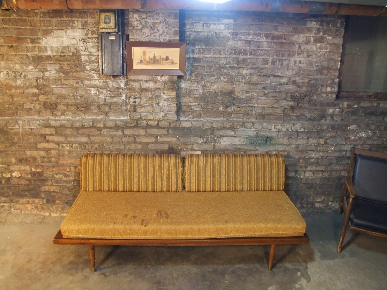 Mid Century Chicago Nelson Style Daybed Sofa
