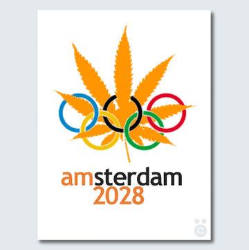 Amsterdam Olympics 2028 Poster