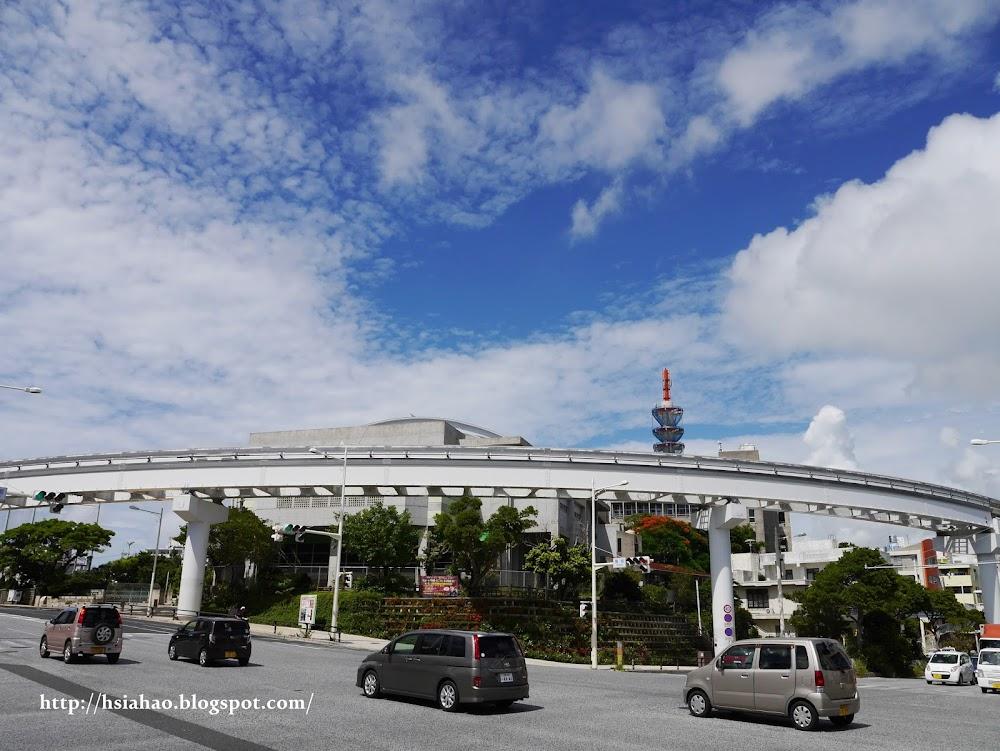 沖繩-交通-單軌電車-那霸-自由行-旅遊-旅行-Okinawa-yui-rail- transport-train