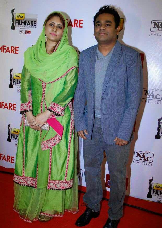 AR Rahman at 61st Idea Filmfare Awards 2013 (South)