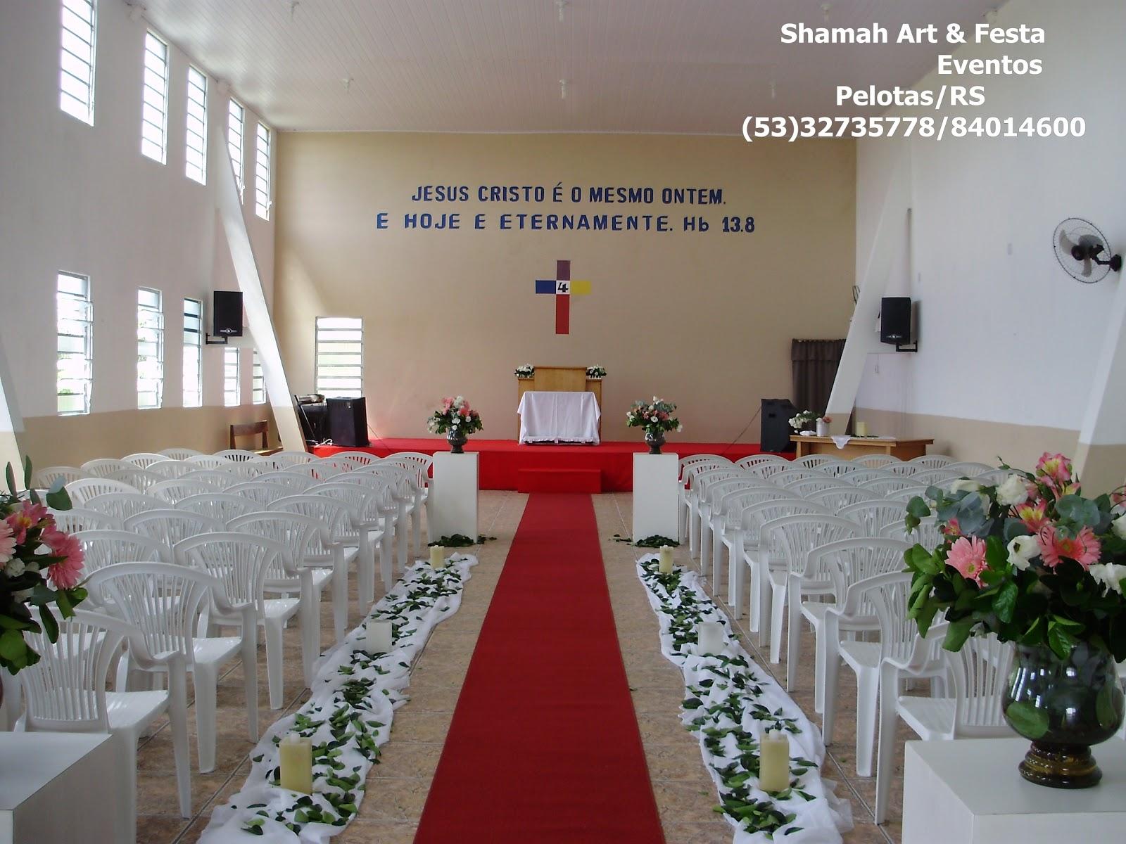 decoracao de casamento igreja evangelica: Art e Festa – Pelotas: decoração – igreja – casamento – pelotas