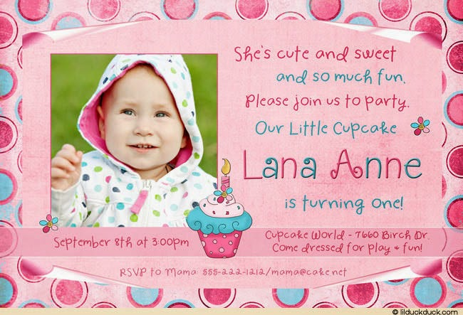 Maha My Life Year Birthday Invitation Cards Year Birthday - Birthday invitation wording for 1 year old baby girl