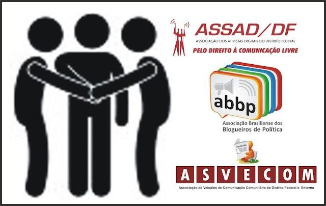 ASVECOM, ASSAD/DF E ABBP FIRMAM PARCERIA