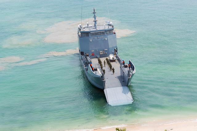 Un nuevo buque de desembarco anfibio fue incorporado a la flota de la Armada de Colombia, el ARC Golfo de Urabá.
