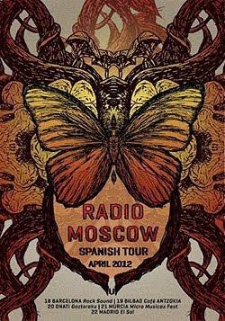 Gira española de Radio Moscow en abril