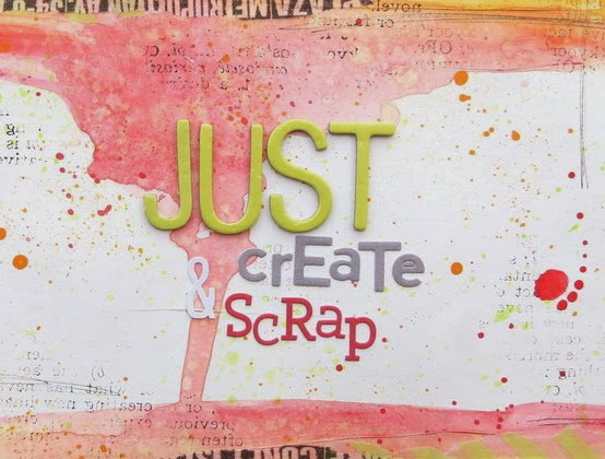 Just create and scrap