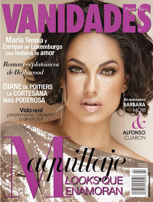 Bárbara Mori HQ Scans from Vanidades Puerto Rico Magzine Cover February 2014