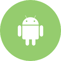 white-android-logo-in-an-green-circle