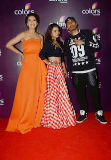 gauhar khan  at colors leadership awards 2015 7.jpg