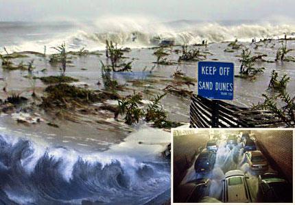 imágenes Huracán Sandy