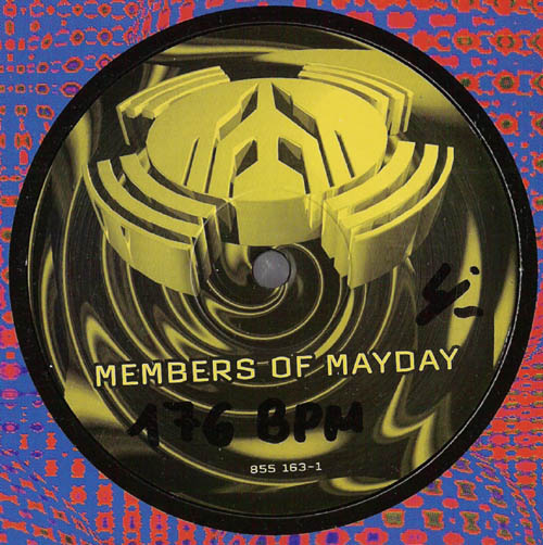 vinyl video members of mayday religion 1993. Black Bedroom Furniture Sets. Home Design Ideas
