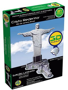 Quebra-Cabeça 3D Cristo