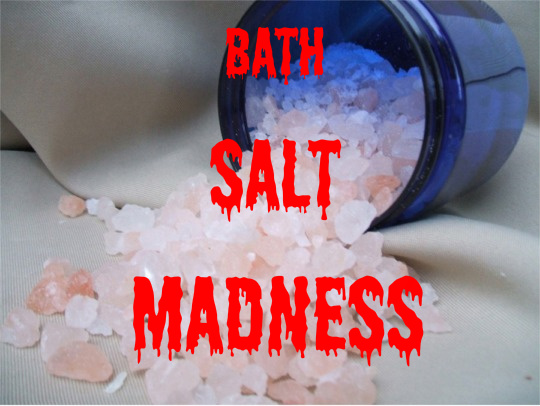 Blow Bath Salt Bath Salts Drug Craze Hits