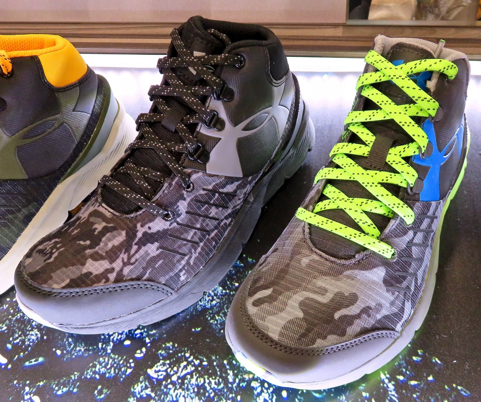 UNDER ARMOUR OUTDOORS' DEBUTS Footwear/Apparel Highlights Spring 2016