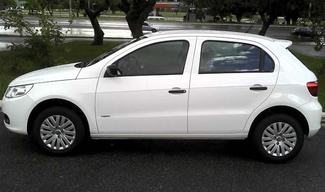 Volkswagen Gol G5 2011 1.0 Trend - branco