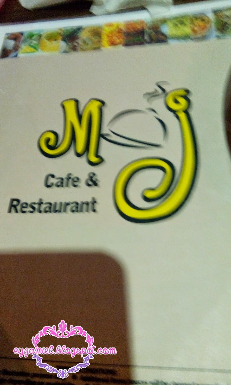 Makan-makan di MJ Cafe & Restaurant, Kenanga