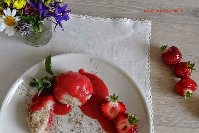 truskawki kasza jaglana dla dzieci zdrowe jedzenie bez glutenu