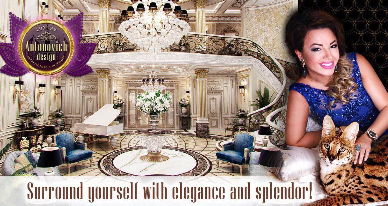 Luxury antonovich design uae interior in oriental style - Luxury Antonovich Design Uae 2015