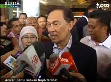 Anwar Saiful sahkan Najib terlibat kes liwat, datuk T, Prime Minister Najib conspiracy