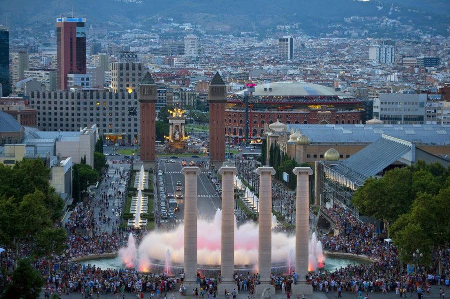 Fuente Mágica - Plaza España Barcelona