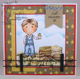 Heather's Hobbie Haven - Farmer Owen Card Kit