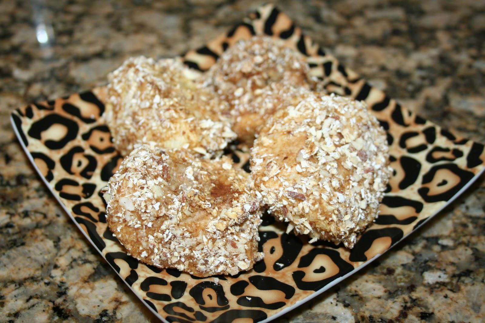 DEFinitely Leopard: Baked Apple Wedges - 175 calories