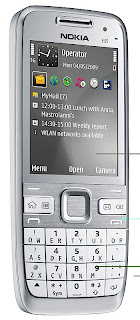 Nokia E55 New 3G smart phone which supports both HSDPA and HSUPA