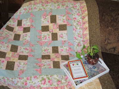 "How to make a ""Triangle Fun"" Quilt"