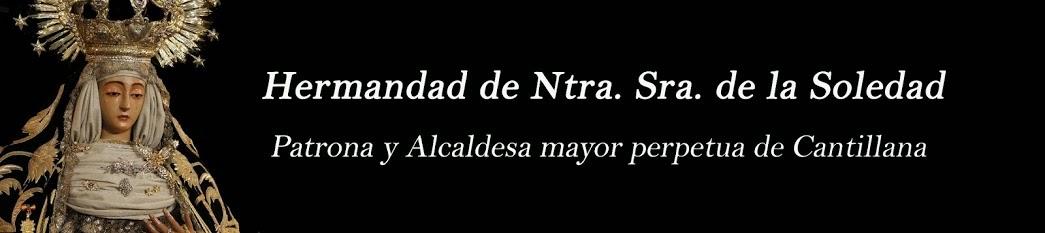 Hdad. de Ntra. Sra. de la Soledad de Cantillana