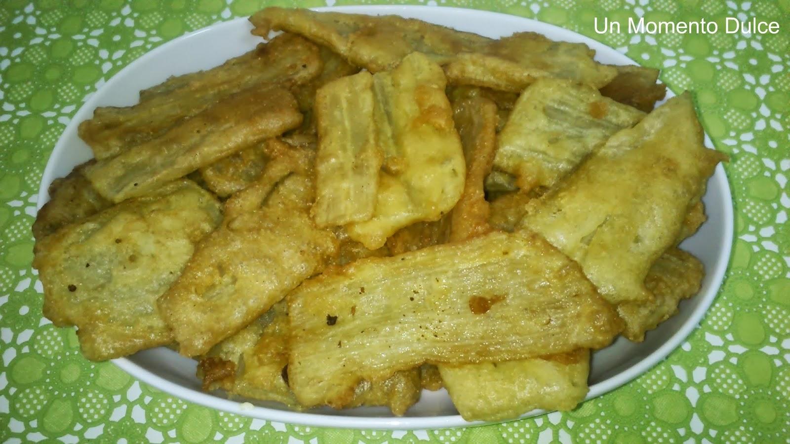Un momento dulce pencas de acelgas con tempura for Cocinar xoubas