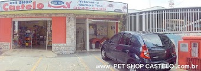 PET SHOP CASTELO- Clnica Veterinria - Banho Tosa - Rao