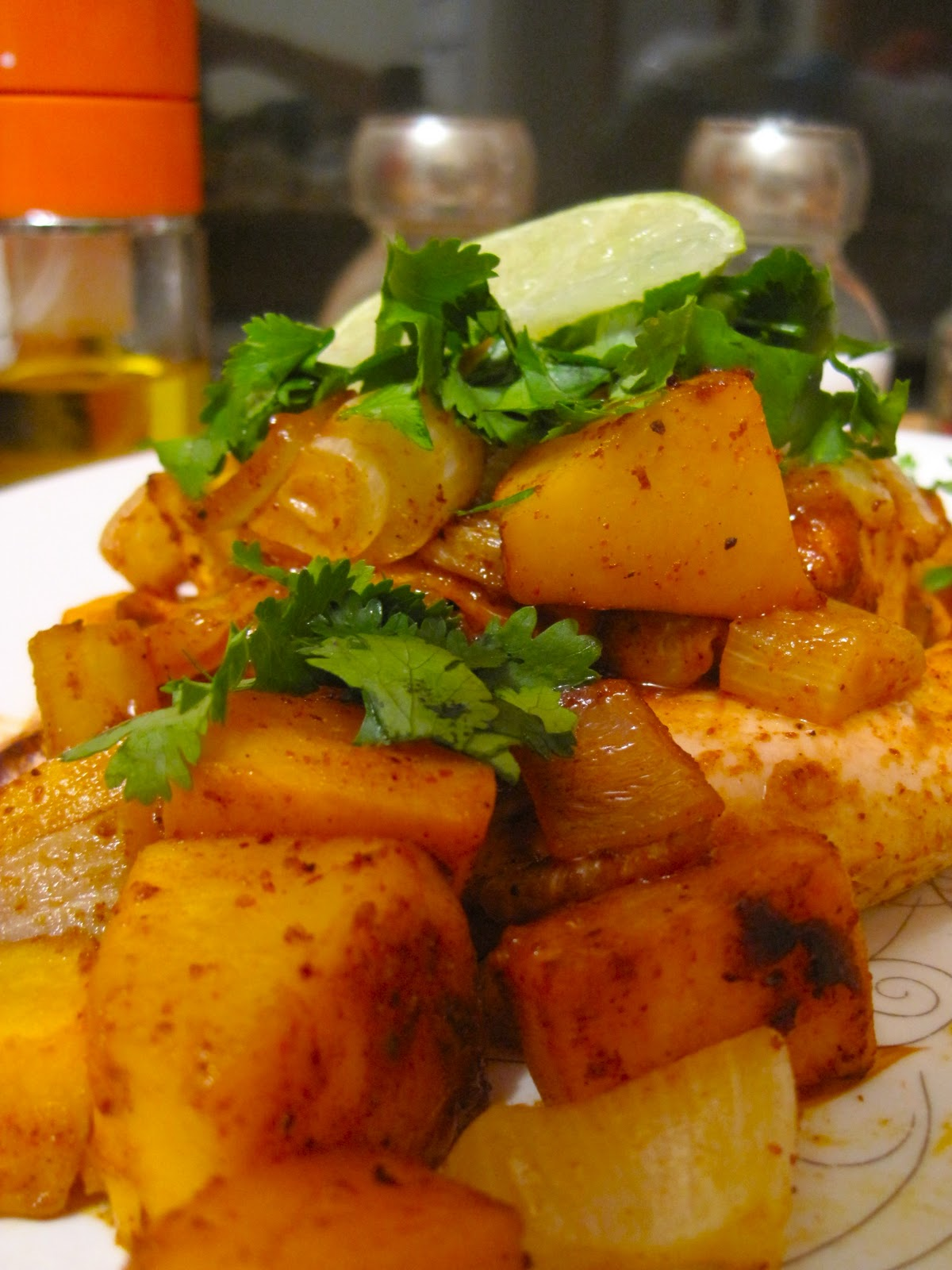 Kvell in the Kitchen: Southwestern Roasted Chicken and Squash