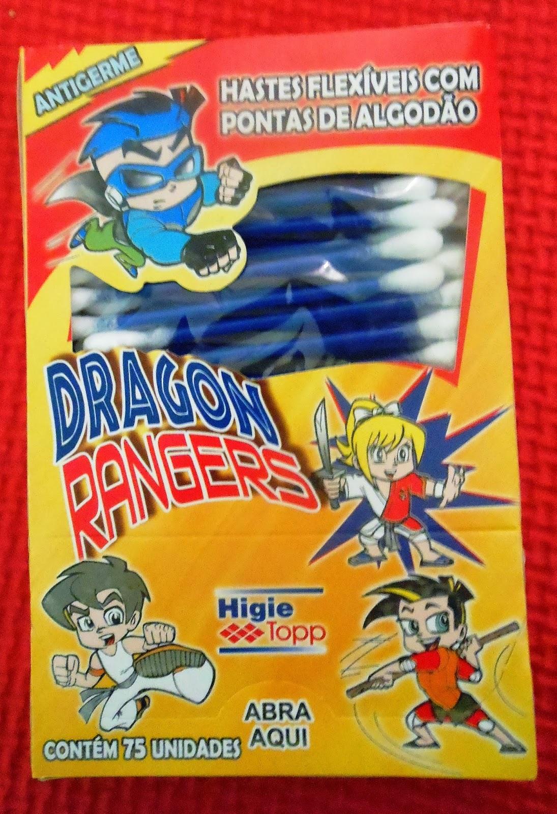 Dragon Ranger hastes flexíveis cotton line