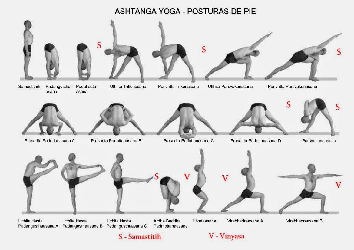 Standing Yoga Poses For Beginners Ashtanga Standing Series  Day