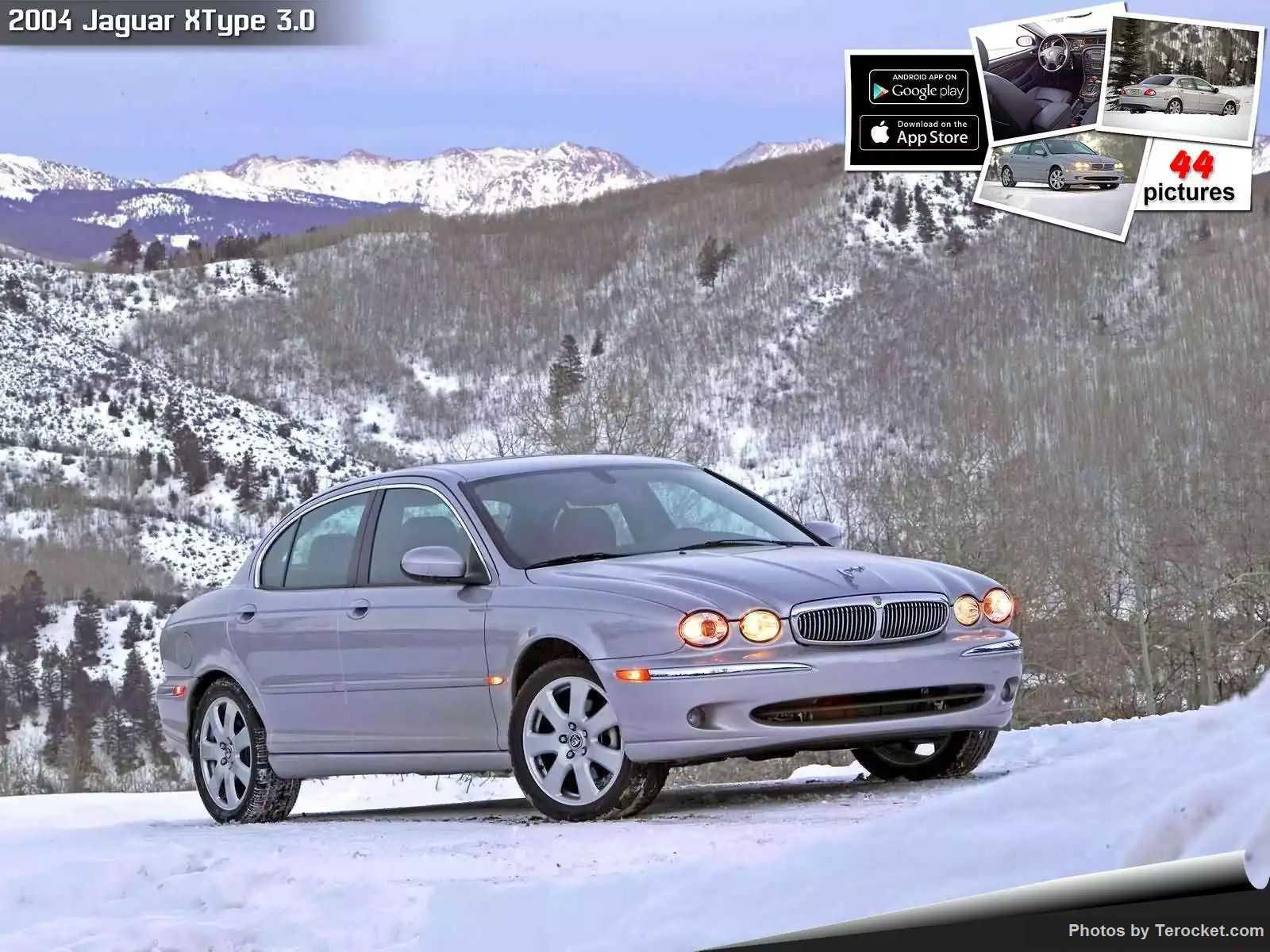 Hình ảnh xe ô tô Jaguar XType 3.0 2004 & nội ngoại thất