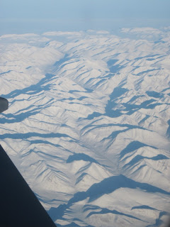 Yukon from 35,000 feet