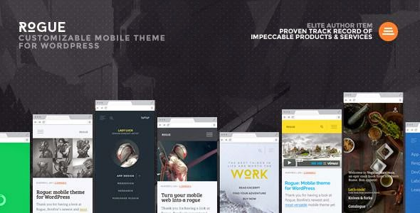 Rogue Mobile Theme for WordPress