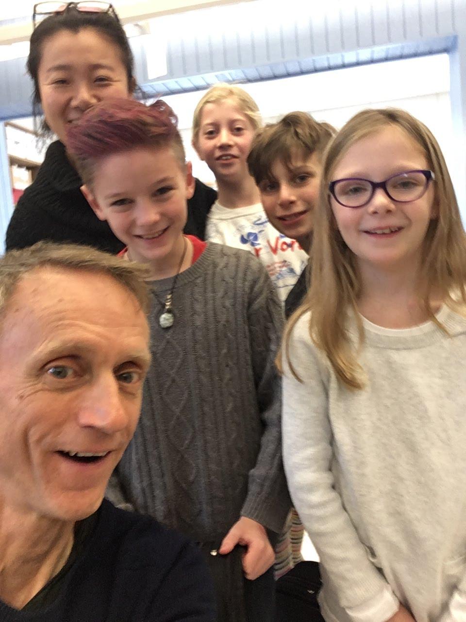 Woodstock Elementary School 12:50 violin class