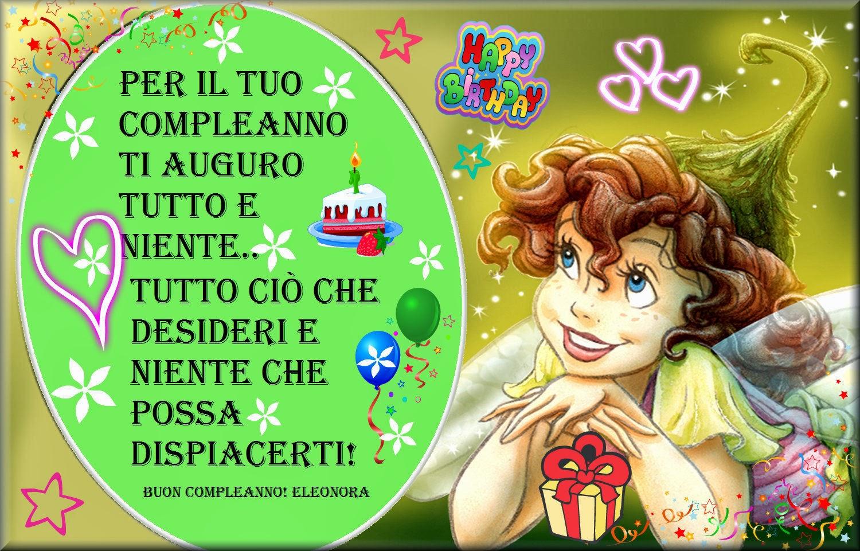 I Sogni Son Desideri Buon Compleanno Eleonora