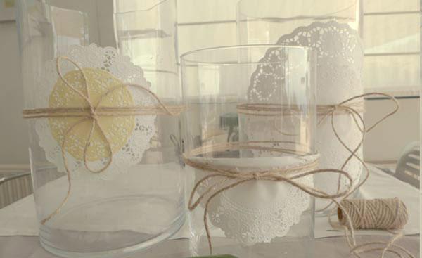 Decoraci n f cil jarrones provenzales hechos en casa - Decoracion jarrones cristal ...
