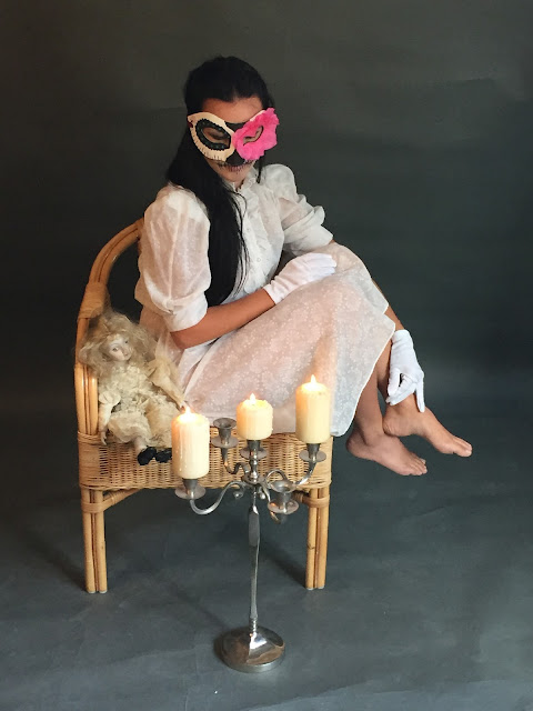 Mystic Magic, Halloween, New Orleans, mardi gras, day of the dead, skull, mask, spooky, horror, studio photography, backstage photography, behind the scenes, photo, scary, voodoo, witch doctor, witch, ghostly, living dead, photo shoot,