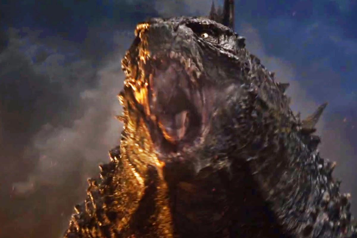Gambar Wajah Godzilla 2014 dari Dekat Monster Versus Muto