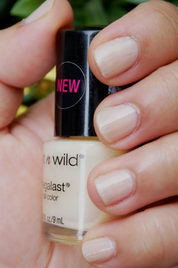 Wet 'n Wild Megalast Nail Color in 2% Milk (203A)