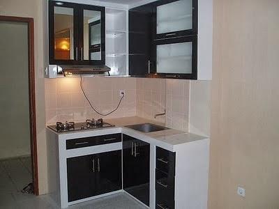 Model Desain Interior Dapur Minimalis