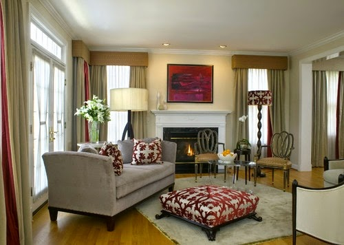 Modern Victorian Home Living Room Ideas