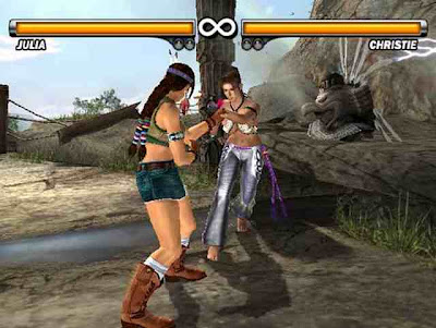 Tekken 5 scren shot