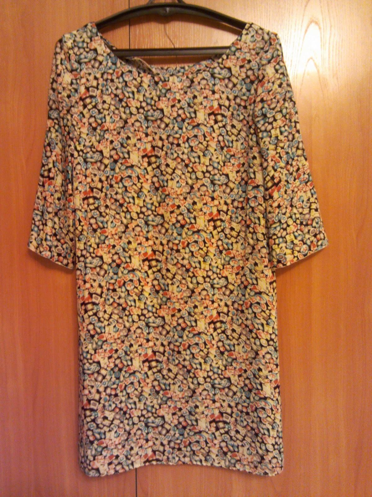 Платье из штапеля как сшить 618